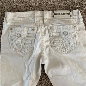 Rock Revival white sundee easy crop size 28